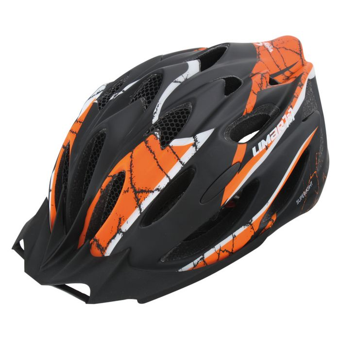 "HELMET  ""LIMAR 757""MATT BLACK / ORANGE55-61"