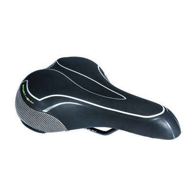 "SADDLE M-WAVE MOD.6034-06 SPORT-SHY ""UNISEX"" Black colour"
