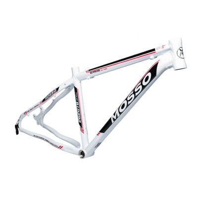"FRAME MTB -26"" MOSSO MOD.2620TB 16"" (41cm) White / Black / Red Line - White / Black / Red Line"