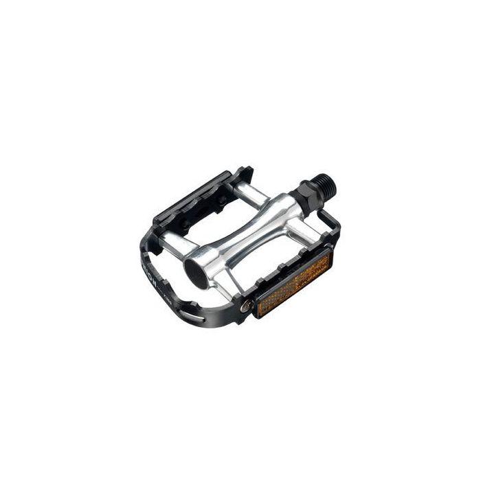 ALUMINUM PEDALS SP-2662 XERAMA -SIOLVER / BLACK