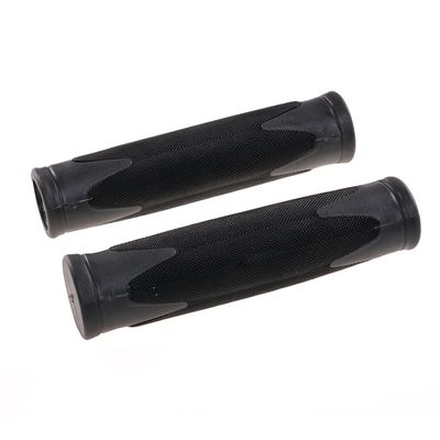 MTB GRIP VELO GRIP - 130 mm - BLACK / GRAY