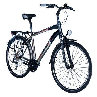 "BICYCLE TREKINGOWY BIRIA SHIMANO ACERA/ALIVIO-3x8 - Frame Size: 20"" ( 52 cm )"