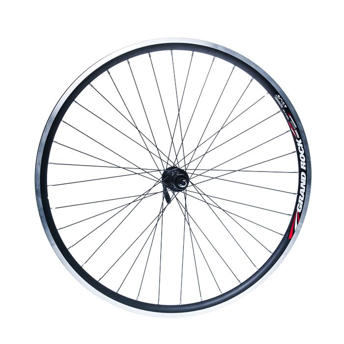 "REAR WHEEL REMERX GRAND ROCK 28"" HUB SHIMANO FHRM70 /36-holes Black colour"