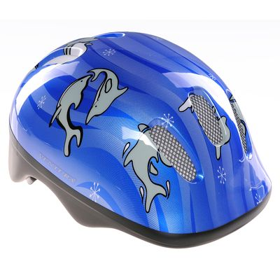 "CHILDREN""S BICYCLE HELMET  VENTURA - ""DOLPHINS"""