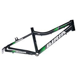 "RAMA MTB-20""BIRIA UNISEX -12"" (30,5cm) Czarny mat / Zielony mat."