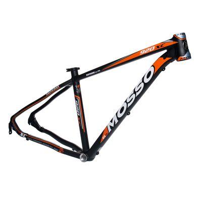 "FRAME MTB-29"" MOSSO MOD.920XC Col. Black Matt / Orange Matt - Frame Size: 17"" (43 cm)"
