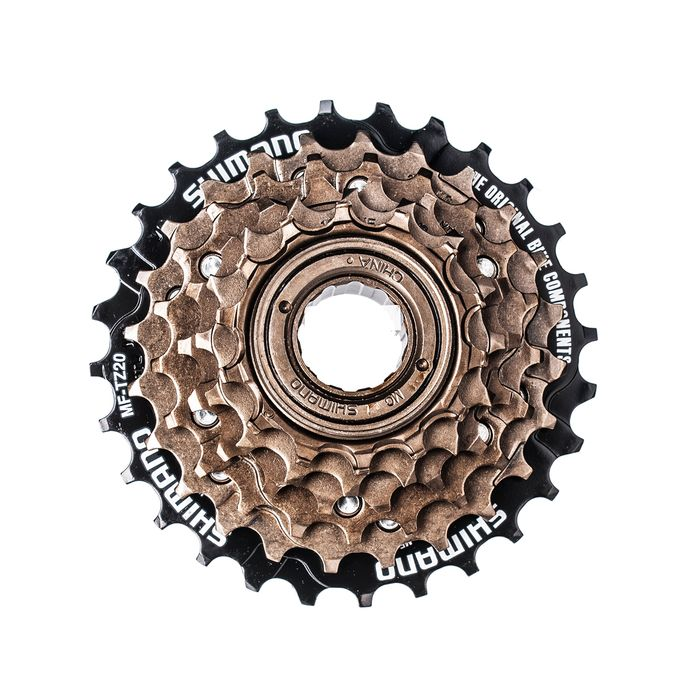 FREEWHEEL 6 SPEED BROWN  INDEX 14-16-18-21-24-28