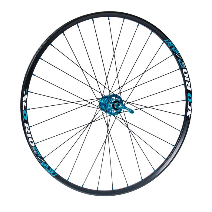 "FRONT WHEEL   REMERX XCO RIO 27,5"" HUB NOVATEC D771SB / SUPERLIGHT / 32-holes  Black colour"