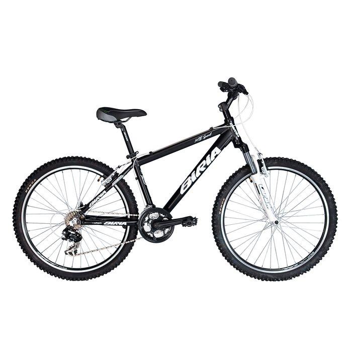 BICYCLE  BIRIA MTB SHIMANO TX 3x7 SUSPENSION FORK  RST CAPA T- MATT BLACK