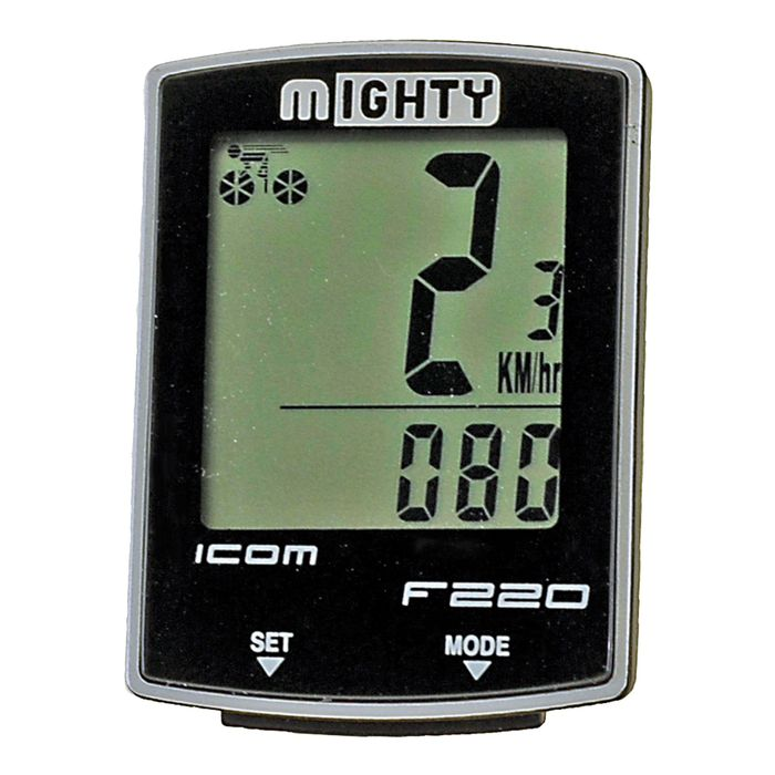 BICYCLE COMPUTER  M-IGHTY 22- WIRELESS WITH THERMOMETER