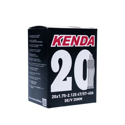 TUBE  KENDA MOLDED 20x1.75-2.125 DV-35mm-BOX