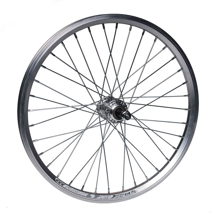 "REAR WHEEL -20"" RIM REMERX DRAGON L-719 mounting for nuts  - SIlver colour"