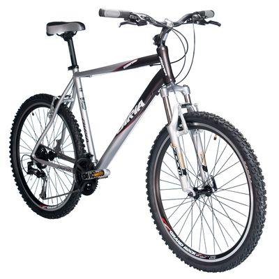 BIKE BIRIA MTB SHIMANO TX/AlIVIO 3x8 SUSPENSION FORK  ZOOM 565