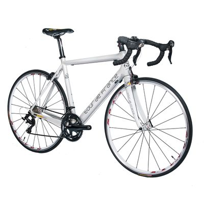 RACING BICYCLE  TOUR DE FRANCE  SHIMANO-105-2x10-FRAME CARBON