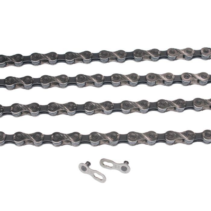 ŁAŃCUCH KMC X9-93- 116 ogniw / 9- rzędowy + spinka CL-566R