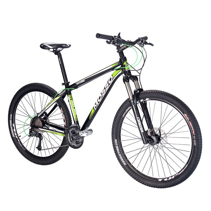 "BICYCLE   MTB 27,5"" MOSSO 7530TB ""ANTARES"" SHIMANO ALIVIO/DEORE -3x9 SUSPENSION FORK  RST OMEGA RL"