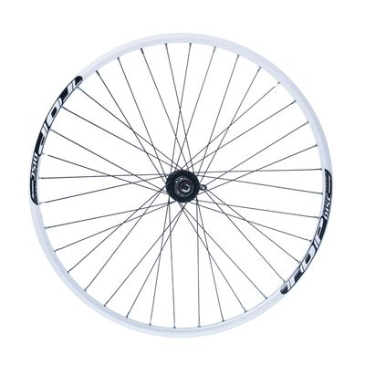"REAR  WHEEL  REMERX TOP DISC 28""-29"" HUB  JOYTECH disc mounting for 6 screws ) / 36-holes White colour"