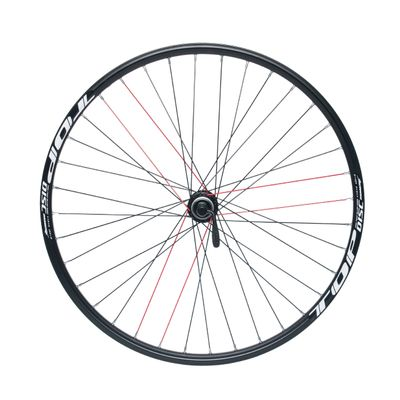 "REAR WHEEL REMERX TOP DISC 26""  HUB SHIMANO ACERA FH-RM66 / 36 holes BLACK"