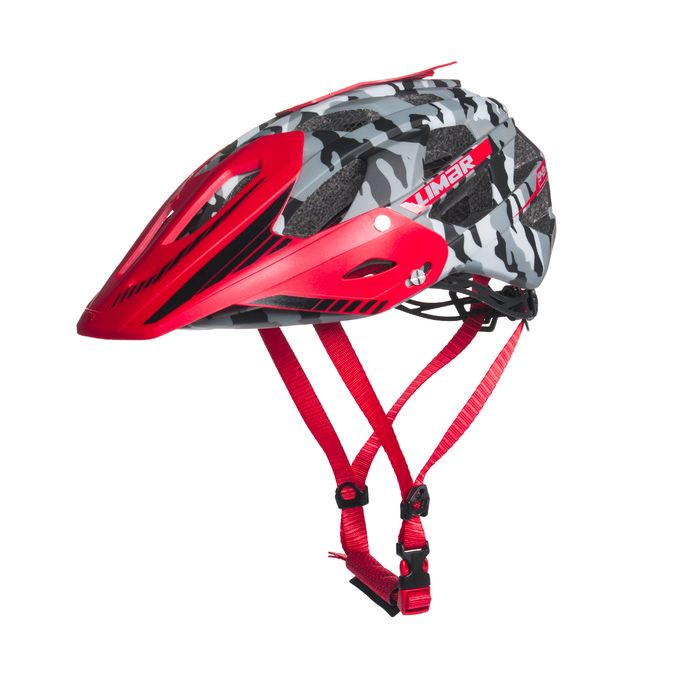HELMET  DIRT I FREE RIDE LIMAR 949DR  MATT CAMO/ BLACK / RED