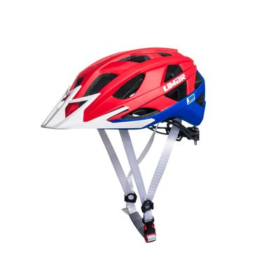 HELMET MTB LIMAR 888 L-(59-63 CM) SUPERLIGHT MATT RED / BLUE