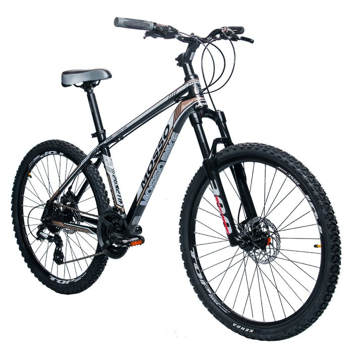 "BIKE MTB 26"" MOSSO 2632TB SHIMANO ALTUS-3x8 SUSPENSION FORK SPINER 300"