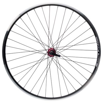 "REAR WHEEL REMERX RMX L  719 28"" HUB JOYTECH  36-holes Col.Black"