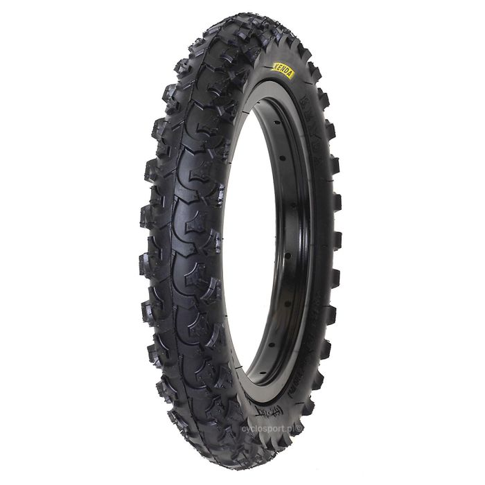 TIRE KENDA 12 X 1/2 x 2 1/4 ( 62 -203 ) K-850 BLACK