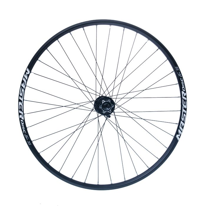 "BACK WHEEL REMERX MASTER DISC 28""-29""HUB  SHIMANO FHM475 ( disc mounting for 6 screws )  / 36-holes Black colour"