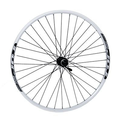 "REAR WHEEL  REMERX TOP DISC 27,5""/650B HUB  SHIMANO ACERA FH-RM66 / 36-holes White colour"