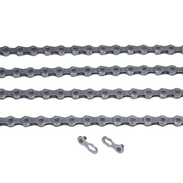 ŁAŃCUCH KMC X11-EPT- 118 ogniw / 11- rzędowy + spinka CL-555R EPT