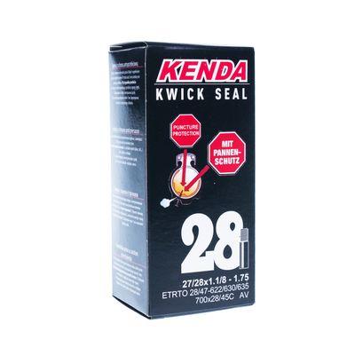 """TUBE  """" KENDA"""" 28"""" x 28 / 47 - 622 / 630 / 635 ( 28/45 -700C ) VALVE : AV"""