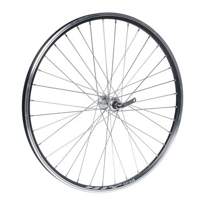 "FRONT WHEEL 26""  P.FORMULA SILVER FOR CLAMP .OB.HIT-BLACK"