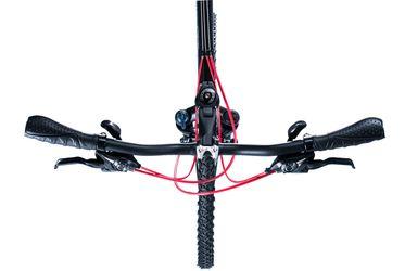 ROWER BIRIA CROSS MĘSKI - TX / ALIVIO 3 x 8 Kol. Czarny / Czerwona linia.