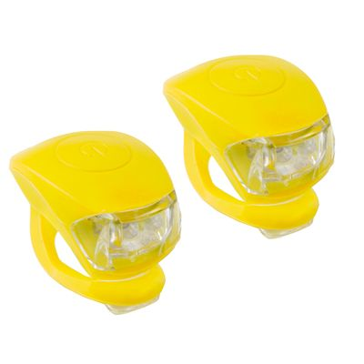 BICYCLE LAMP SET  Cobra IV - Yellow