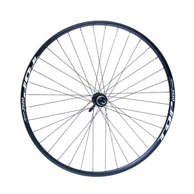 "REAR WHEEL  REMERX TOP DISC 28""-28"" HUB SHIMANO ACERA FH-RM66 / 36-holes Black colour"