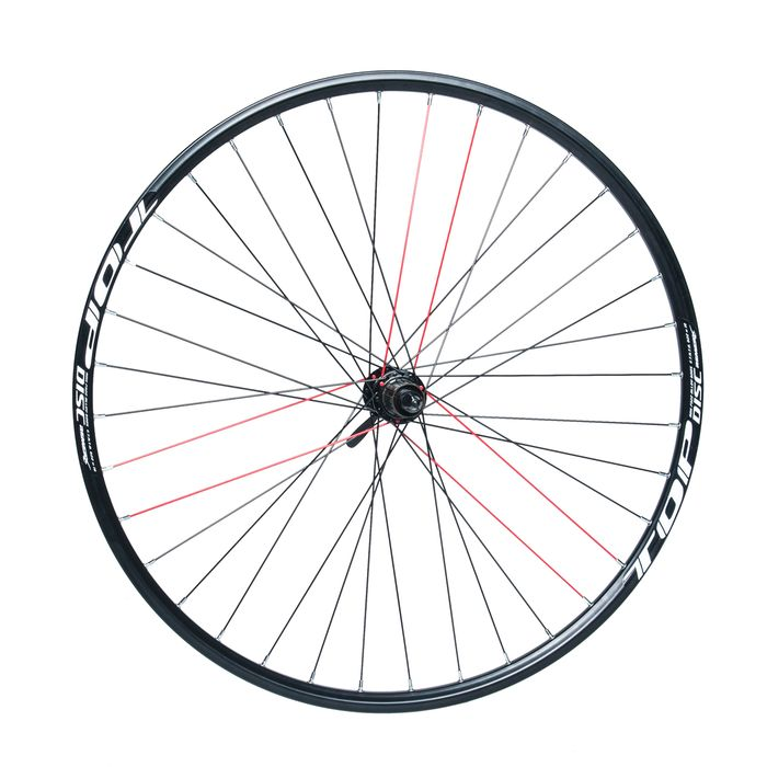 "REAR WHEEL REMERX TOP DISC 28""-28"" HUB  SHIMANO ACERA FH-RM66 / 36 holes Black colour"