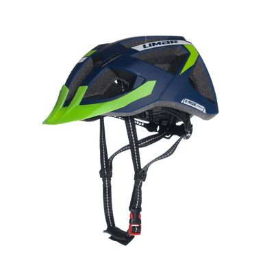 HELMET MTB LIMAR X-RIDE Col. Blue Mat / Light Green Mat  - Size: M (52-57 cm)
