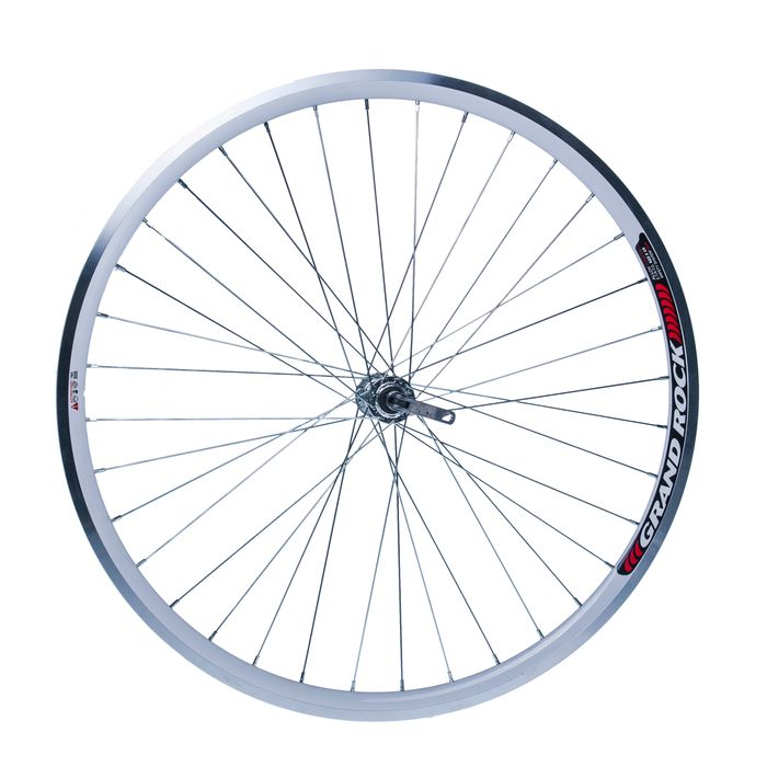 "FRONT  WHEEL REMERX GRAND ROCK 28"" - HUB  JOYTECH-White colour"