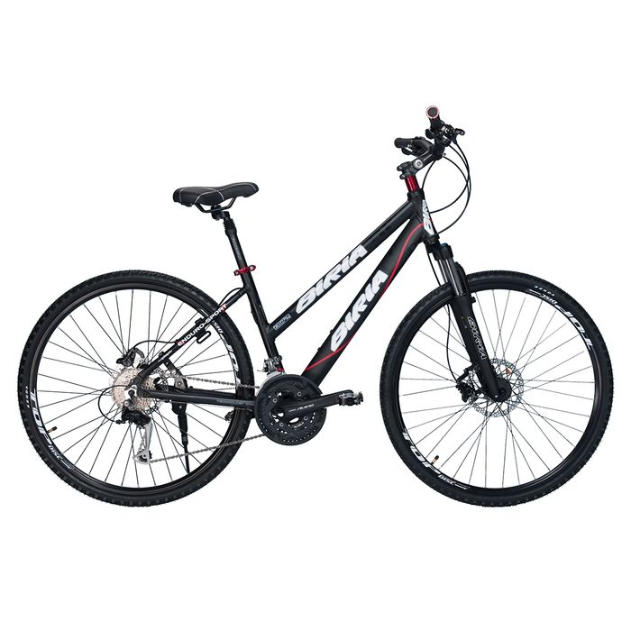 BICYCLE  BIRIA CROSS LADIES  - SHIMANO ALIVIO -3x 9 HYDRO BRAKE KMatt Black