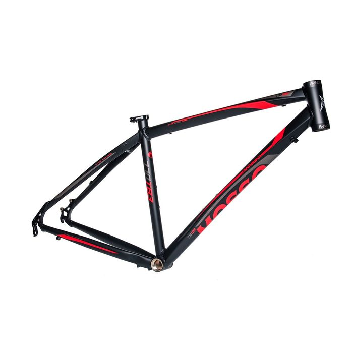 "FRAME CROSS  -28"" MOSSO MOD.770TB3 18"" (45cm) Matt Black / Matt Red"