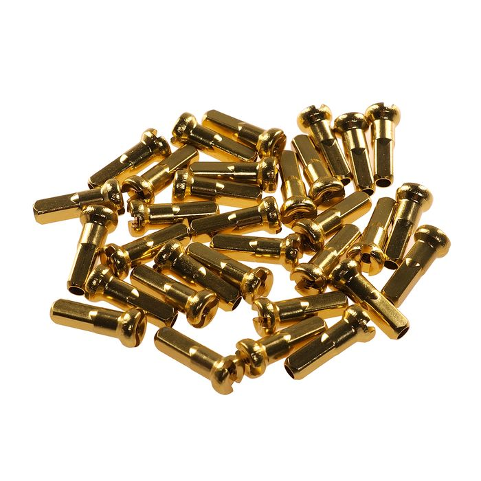 NIPPLES 2,0mm / 14 mm ALUMINUM  - CN SPOKE  packed 100 items