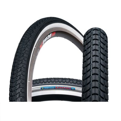 "TIRE KENDA""K-841A""42-622 -KOMFORT-WHITE SIDE"