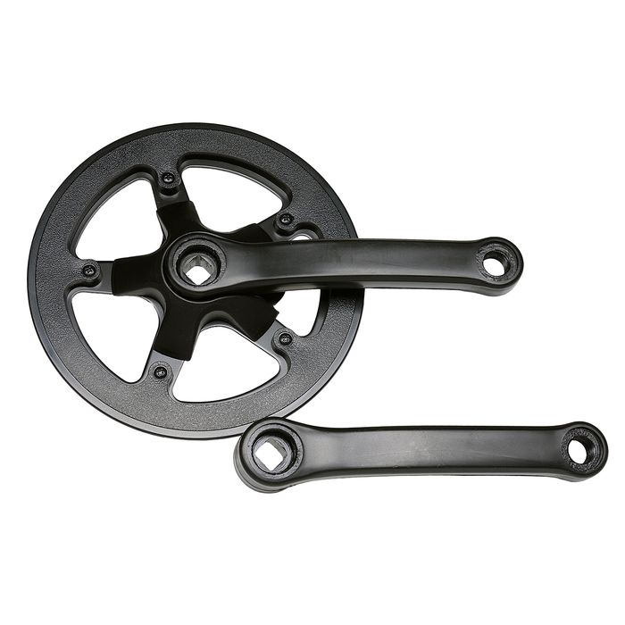 "MECHANIZM KORBOWY STAL DO ROWERU( 20"" - 24"") 40 Z / 152 mm"