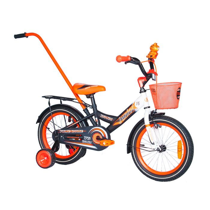 "CHILDREN'S BICYCLE - 16"" JUNIOR ORANGE"