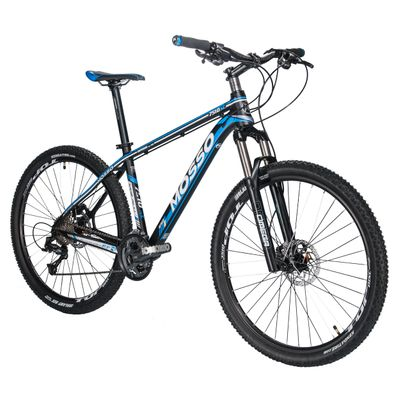 "BICYCLE MTB-27,5"" MOSSO 7510XC-SHIMANO ALIVIO/DEORE 3x9  SUSPENSION FORK RST OMEGA RL"