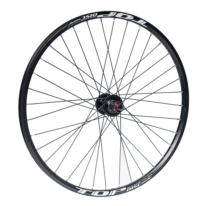 "REAR WHEEL 26""P.JOYTECH-DISK RIM TOP DISC-BLACK"