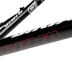 """RAMA MTB 26"""" BIRIA Pro RS - 17"""" 43 cm  Kol. Czarny mat / Czerwona linia"""